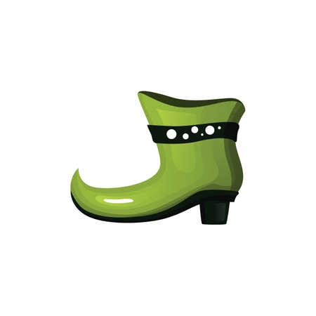 leprechaun shoe Ilustracja