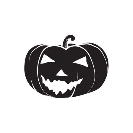 Pumpkin head Illustration