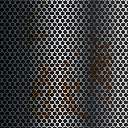 mesh wire texture Ilustração
