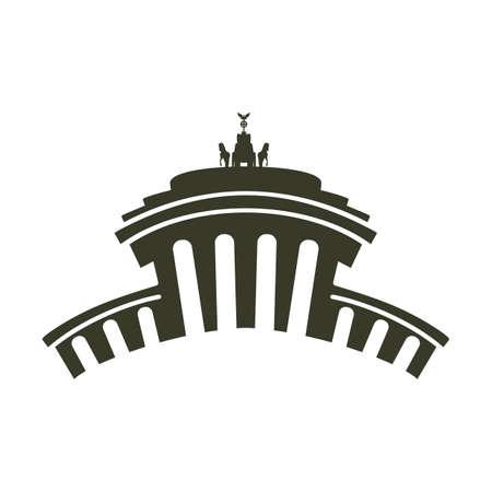 宮殿の図。  イラスト・ベクター素材