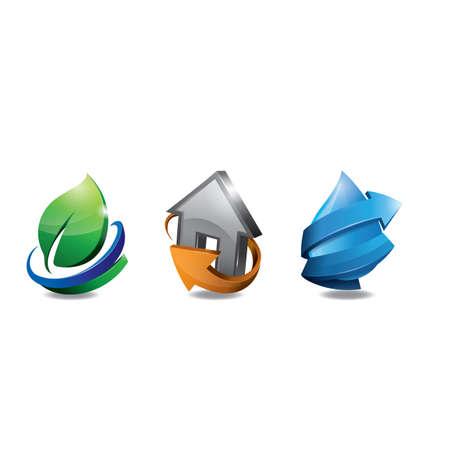 various logo icons