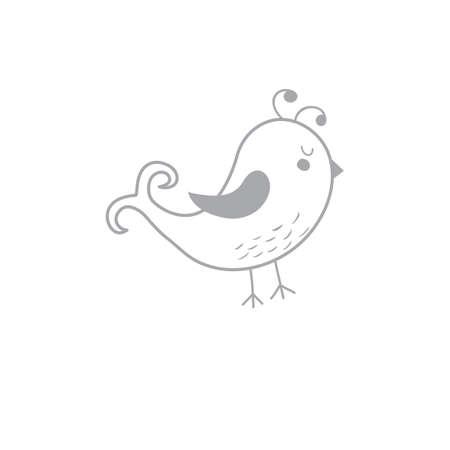 Een vogel illustratie.