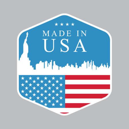 Made in usa label Stock Vector - 81537545
