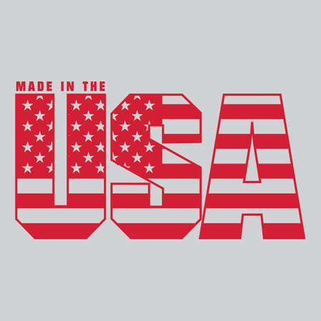 Made in usa label Stock Vector - 81537554