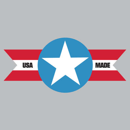 Made in usa label Stock Vector - 81537564