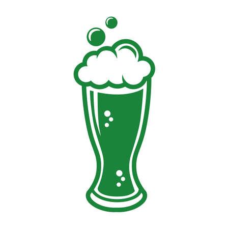 beer glass Ilustração