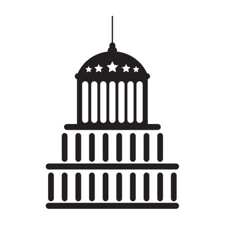 A United States capitol illustration.