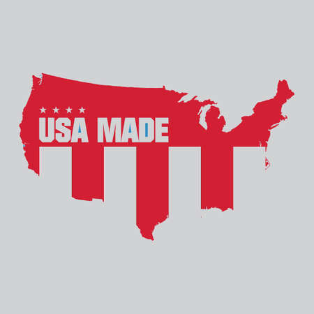 Made in usa label Stock Vector - 81537563