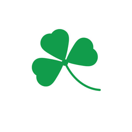 A shamrock illustration.