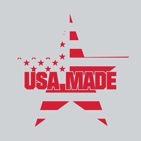 Made in usa label Stock Vector - 81537567