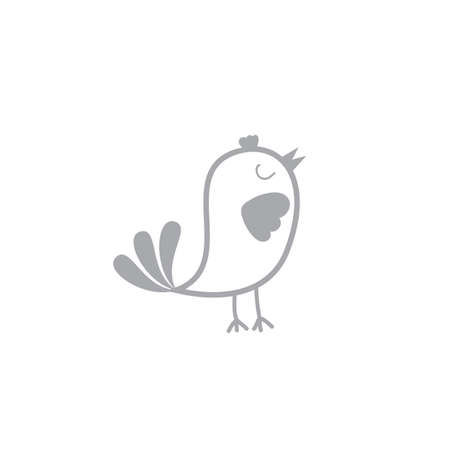A simple bird illustration.