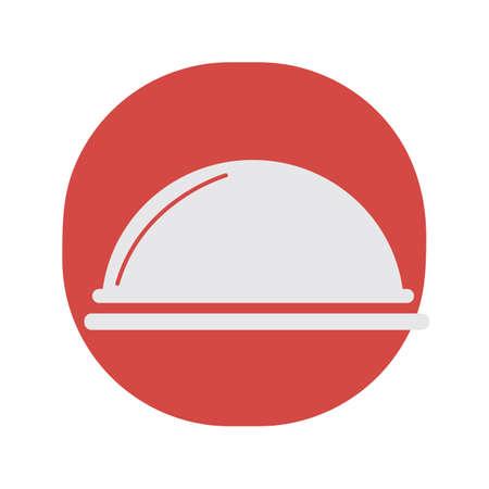 サービング トレイのカバー  イラスト・ベクター素材