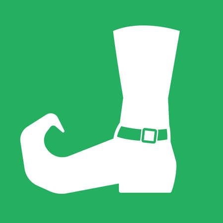 leprechaun boot Illustration