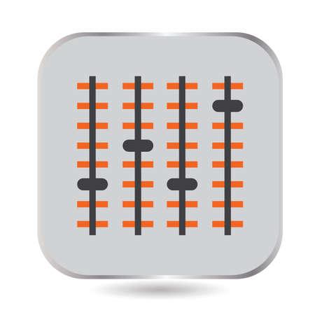 Een eenvoudige dj-audiomixer.