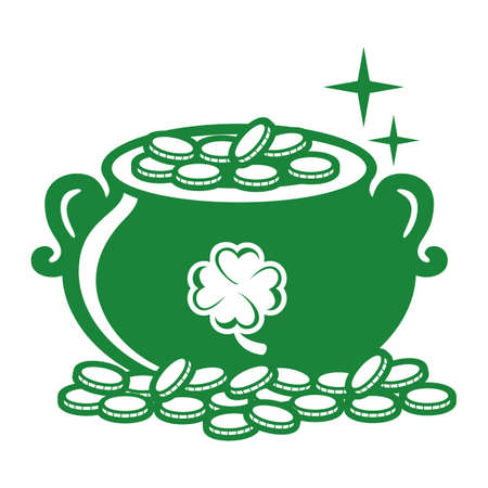 pot of gold  イラスト・ベクター素材