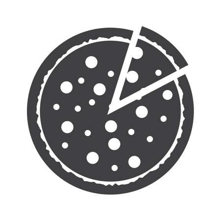 얇게 썬 피자 스톡 콘텐츠 - 81486569
