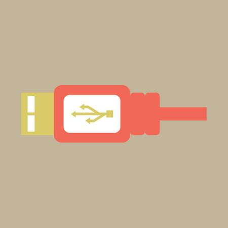 의 USB 와이어
