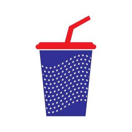 takeaway beverage cup Illusztráció