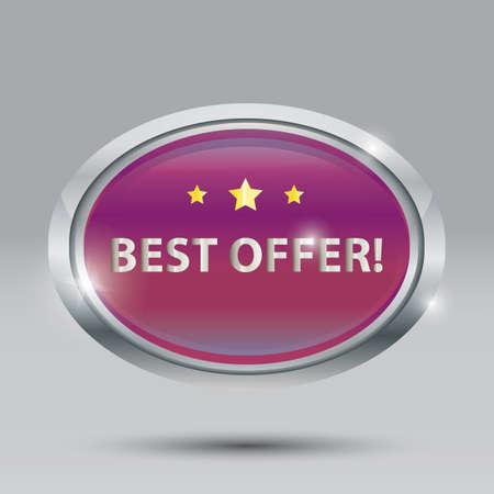 best offer Ilustração