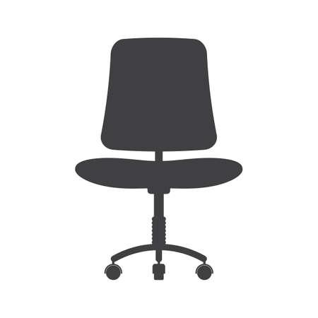 사무실 의자 일러스트
