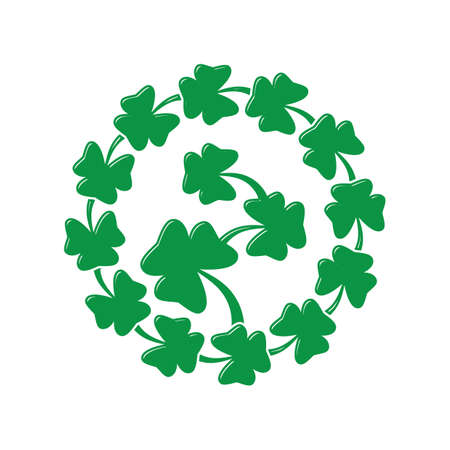 saint patricks wreath