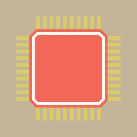마이크로 칩 스톡 콘텐츠 - 81538606