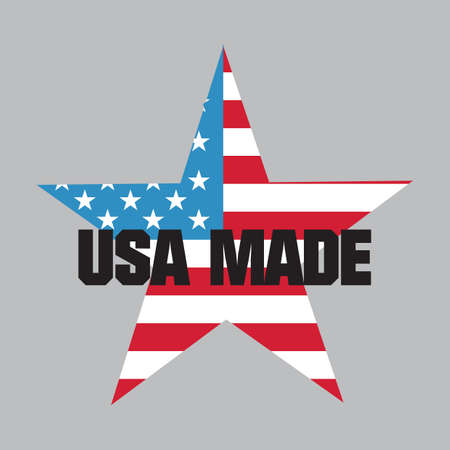 Made in usa label Stock Vector - 81537798