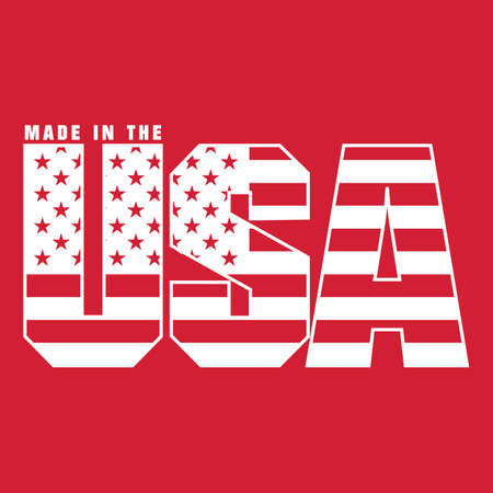 Made in usa label Stock Vector - 81537808