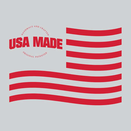 Made in usa label Stock Vector - 81537811