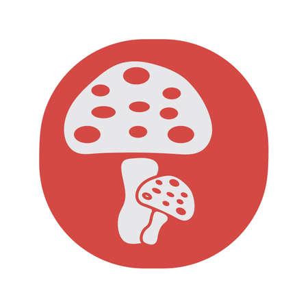 mushrooms Illustration