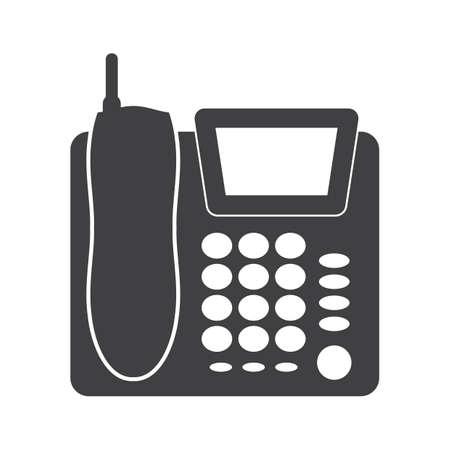 전화 일러스트