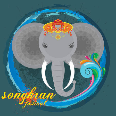 songkran festival background