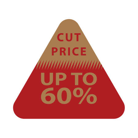 cut price tag Stock Vector - 81486767