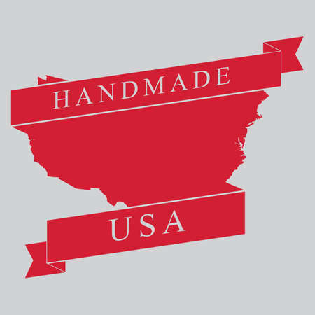 Made in usa label Stock Vector - 81537841