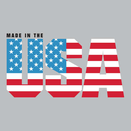Made in usa label Stock Vector - 81537845