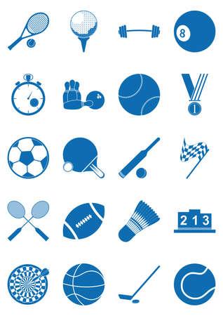 dumb: set of sports icons