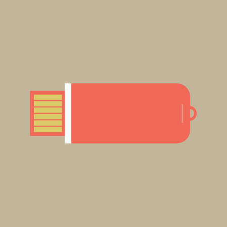 USB stick Stock Illustratie
