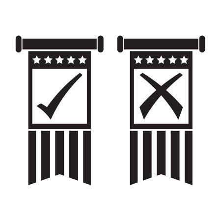 투표 배너