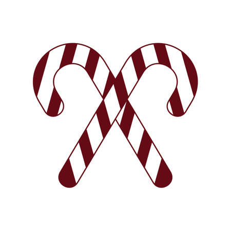 candy cane Illustration