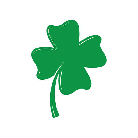four-leaf clover Illustration