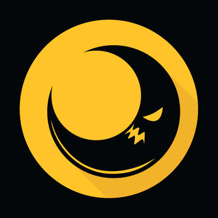 gruseliger Mond