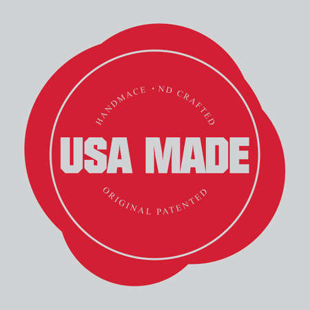 Made in usa label Stock Vector - 81537871
