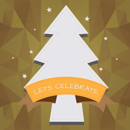 textspace: christmas tree frame