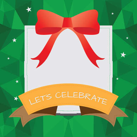 textspace: gift box frame
