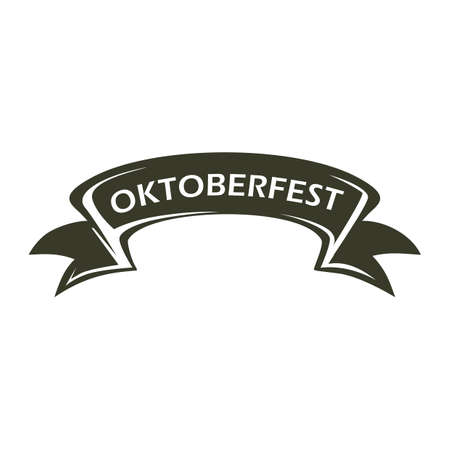 oktoberfest banner 矢量图像