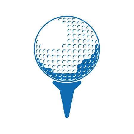 golf ball 向量圖像