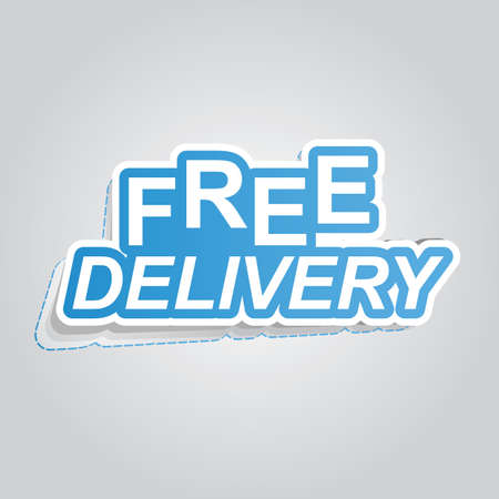 free delivery poster