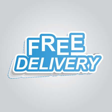 affiche de livraison gratuite