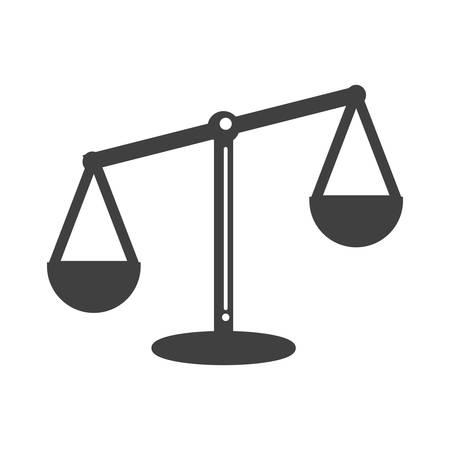 balance scale Ilustração