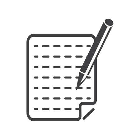 Paper and pen Çizim